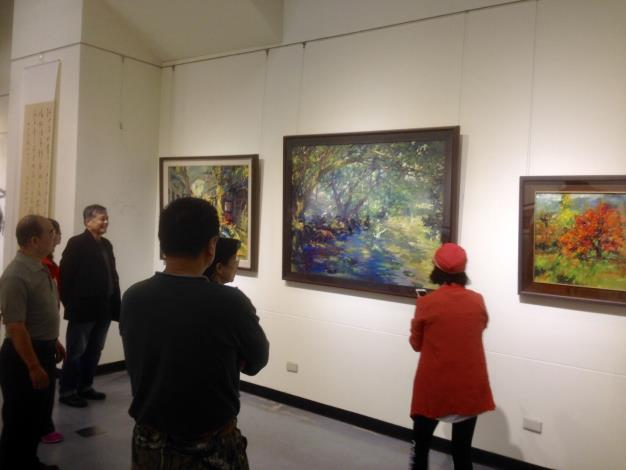 2018年台灣中油「油於藝」美展  中正紀念堂開展