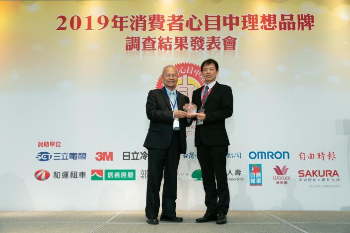 台灣中油連續14年蟬聯「消費者心目中理想品牌」加油站類第一名