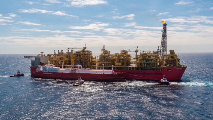 新南向再放異彩 台灣中油澳大利亞氣田液化天然氣啟運