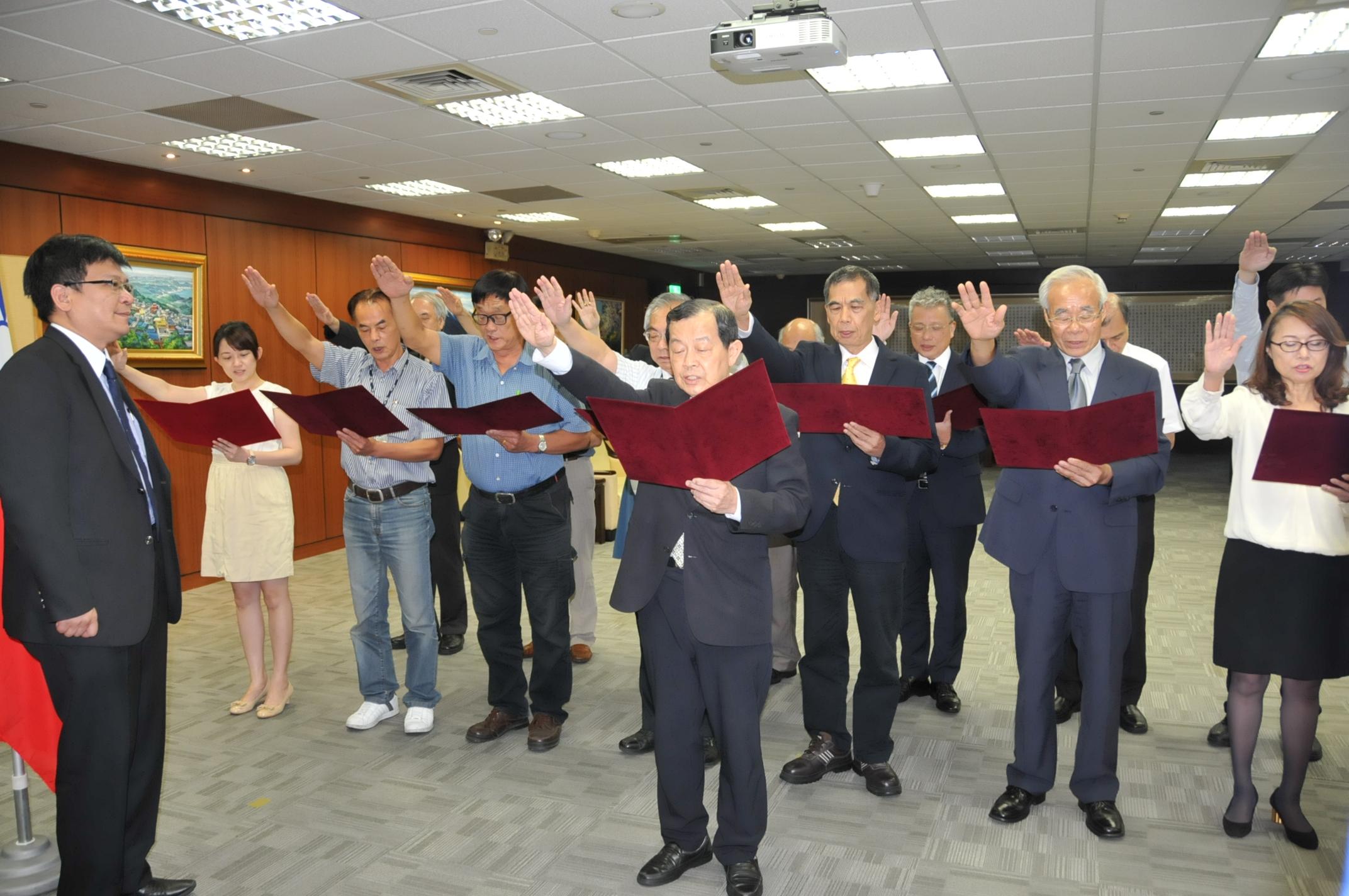 台灣中油公司第33屆董事、監察人宣誓就職