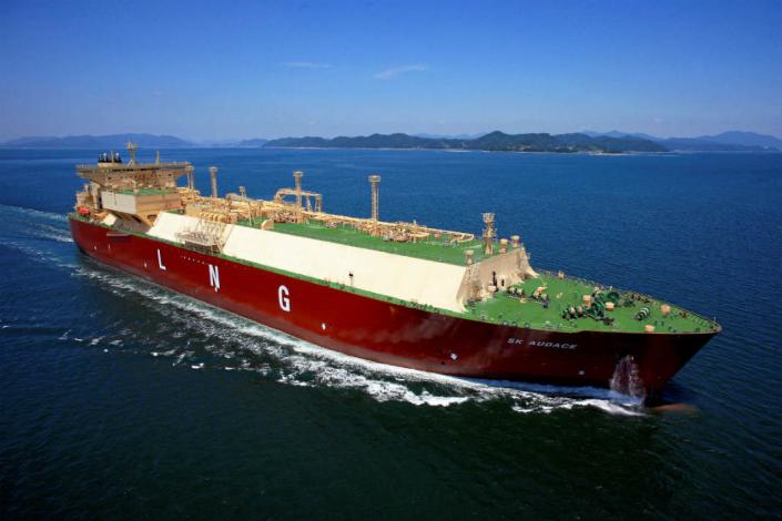 首艘以長約交運之美國液化天然氣船抵台