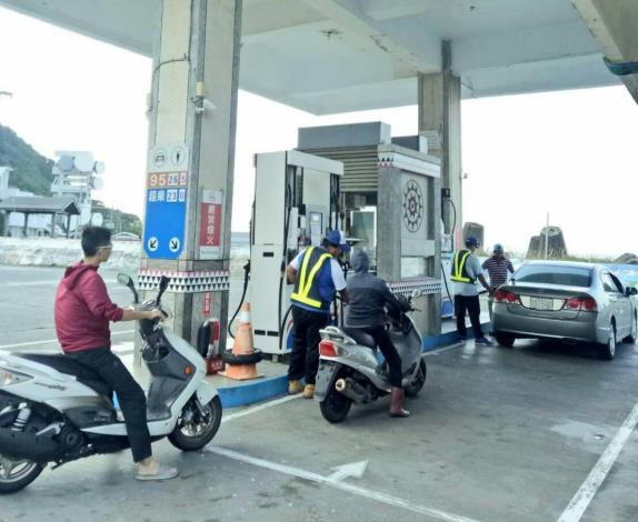 綠島蘭嶼加油站送油不中斷 請消費者勿需擔心
