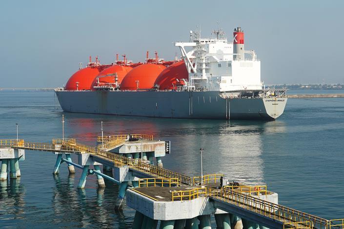 新南向政策開花結果 台灣中油澳洲普陸氣田自產液化天然氣抵台