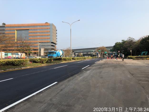 台灣中油內湖油管更新工程已完成  並恢復通車
