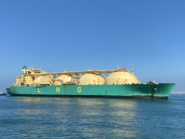 台灣中油與殼牌公司再接再厲合作進口碳中和液化天然氣