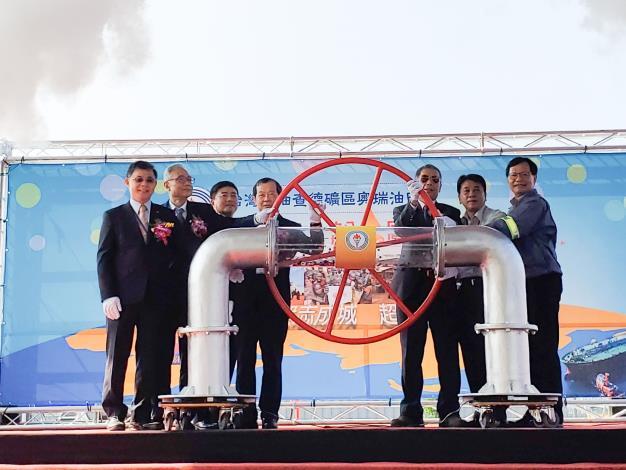 台灣中油海外探採有成  喜迎查德奧瑞油田第一船原油