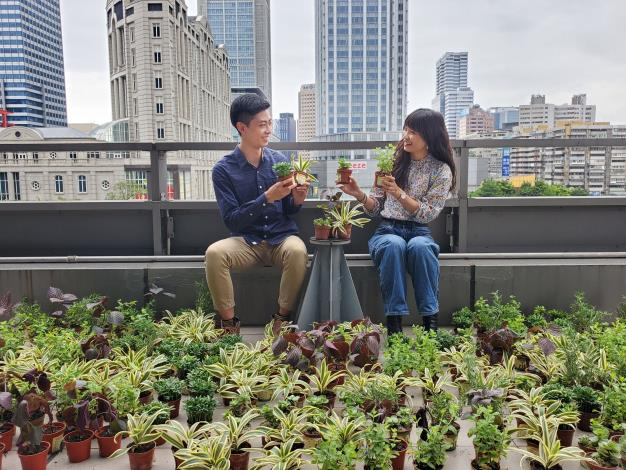 台灣中油邀您一起種下「藝」苗,為防疫加油