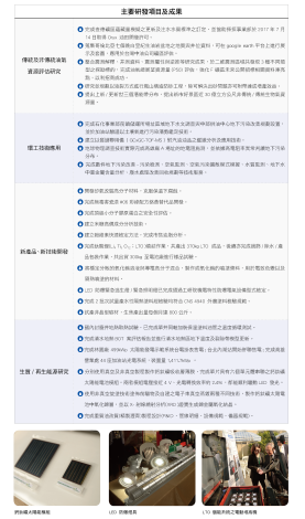 7.台灣中油公司主要研發項目及成果