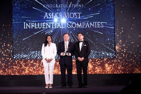 台灣中油-亞洲卓越企業暨永續發展獎(ACES AWARDS)第一家台灣獲獎企業
