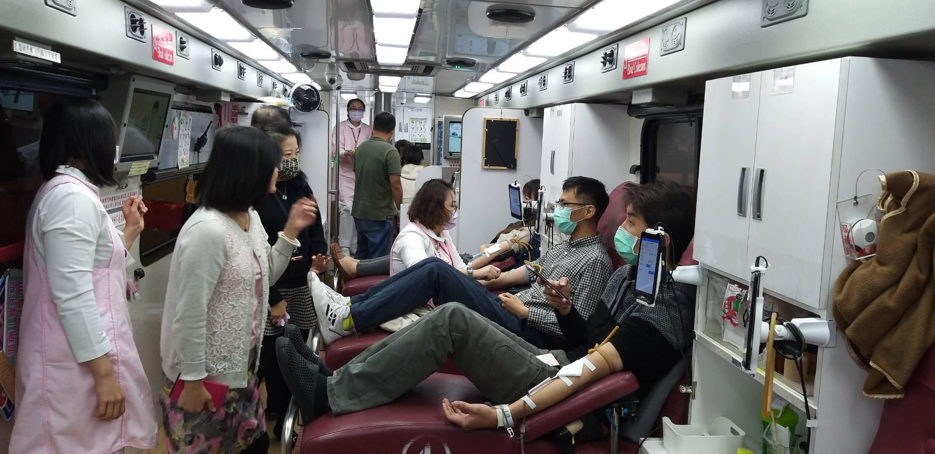 中油大樓108年3月2日舉辦百萬CC熱情公益捐血活動,感謝同仁及民眾的熱情響應。