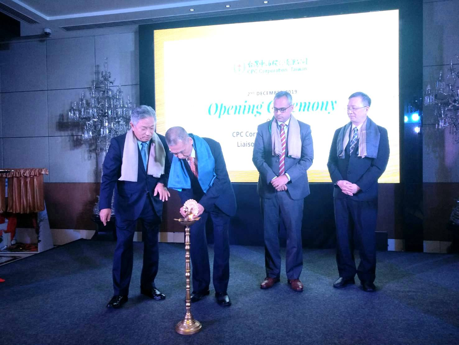 The opening ceremony of the Liaison Office of CPC Taiwan in India was held to announce its establishment and the creating of new opportunities of the New Southbound Policy