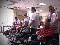 台灣中油為愛加油-視障協會公益按摩