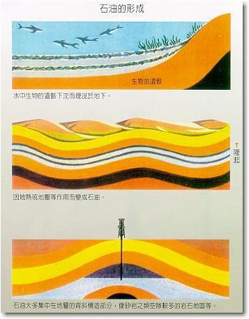 石油的形成