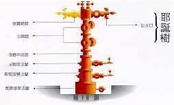 耶誕樹指的是生產井的井口裝置。
