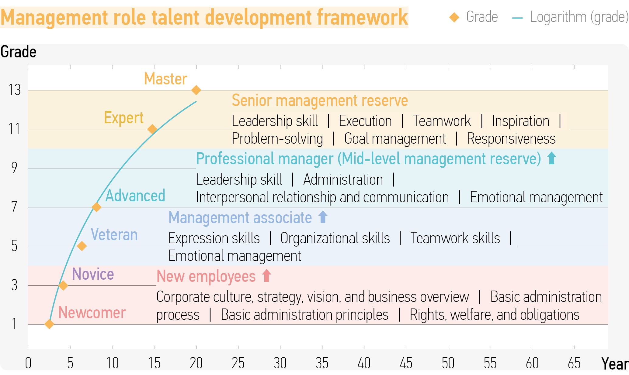 Management talent development framework